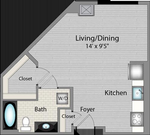 Apartment 325 floorplan
