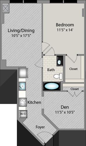 Apartment 437 floorplan